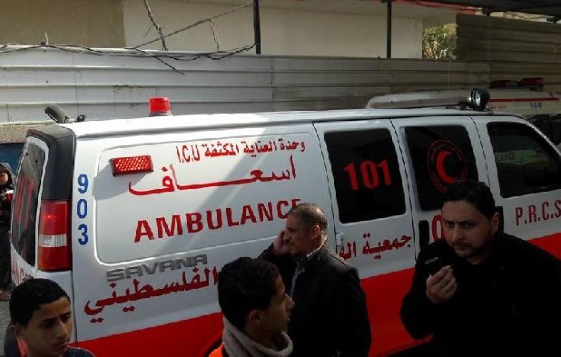 الطواقم الطبية في القدس