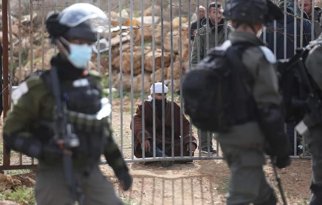 الاحتلال يعتقل 5 شبان من مخيم جنين وتقتادهم لجهة غير معلومة