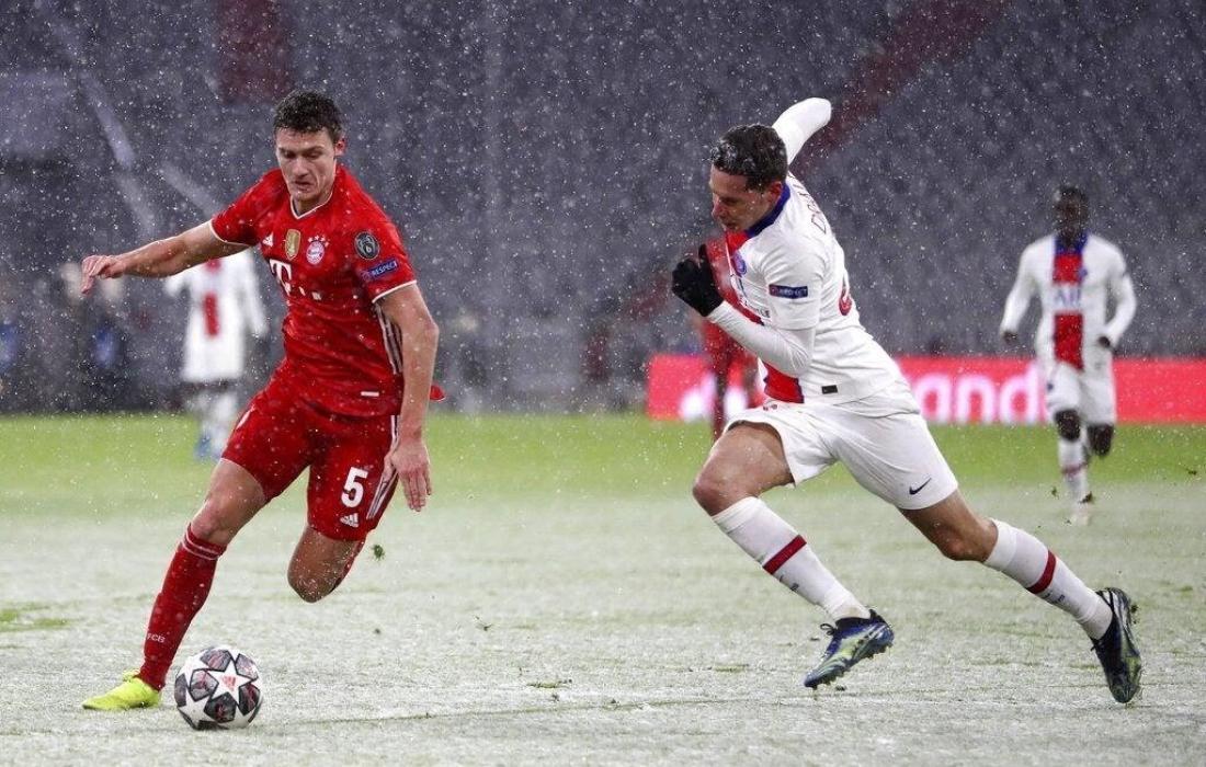 من مباراة باريس سان جيرمان وبايرن ميونخ
