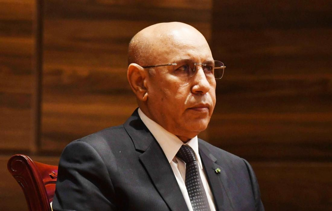 خلال لقاء هنية..رئيس موريتانيا يشيد بصمود الشعب الفلسطيني