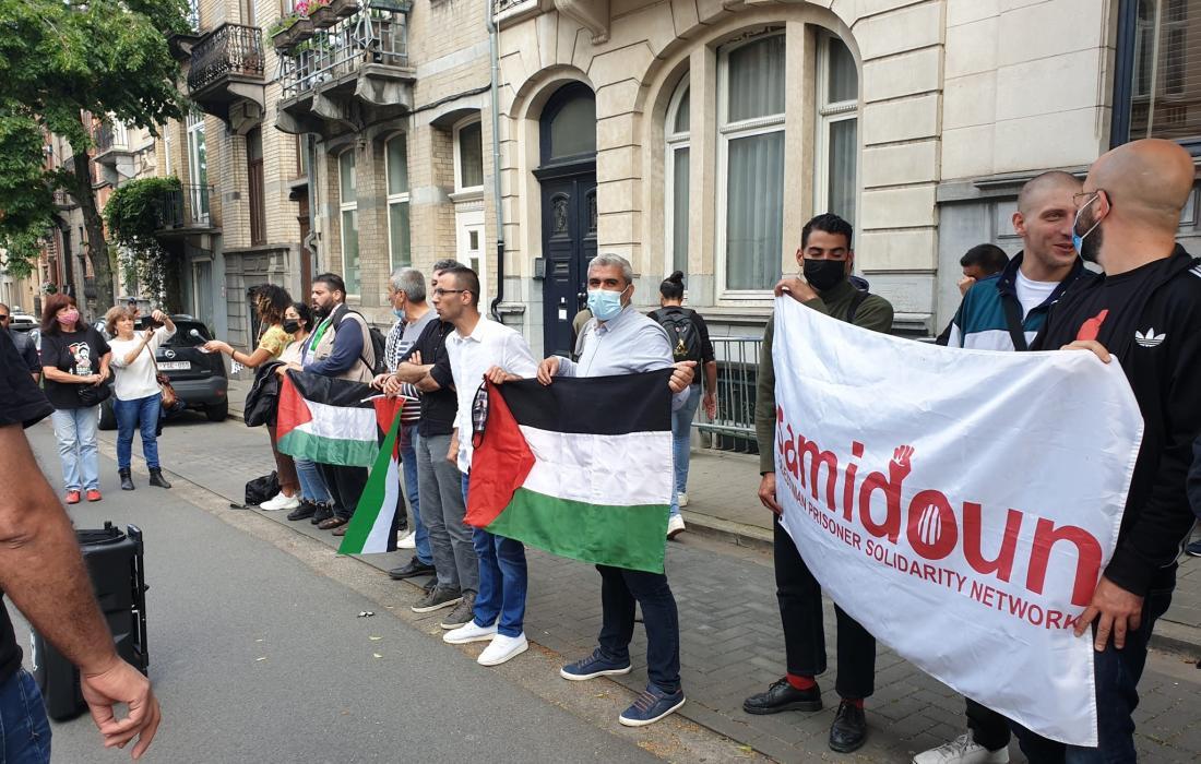 المنظمة التحرير الفلسطينية في بروكسل ترفض استلام رسالة من متضامنين مع نزار بنات