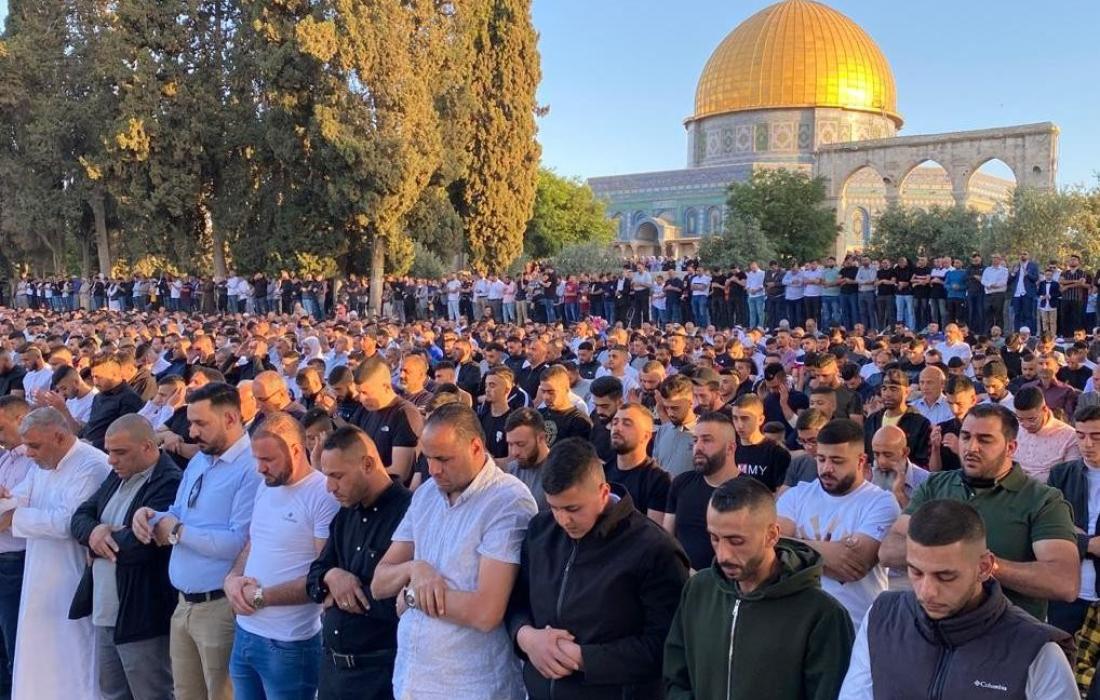 صلاة عيد الأضحى المسجد الأقصى.jpg
