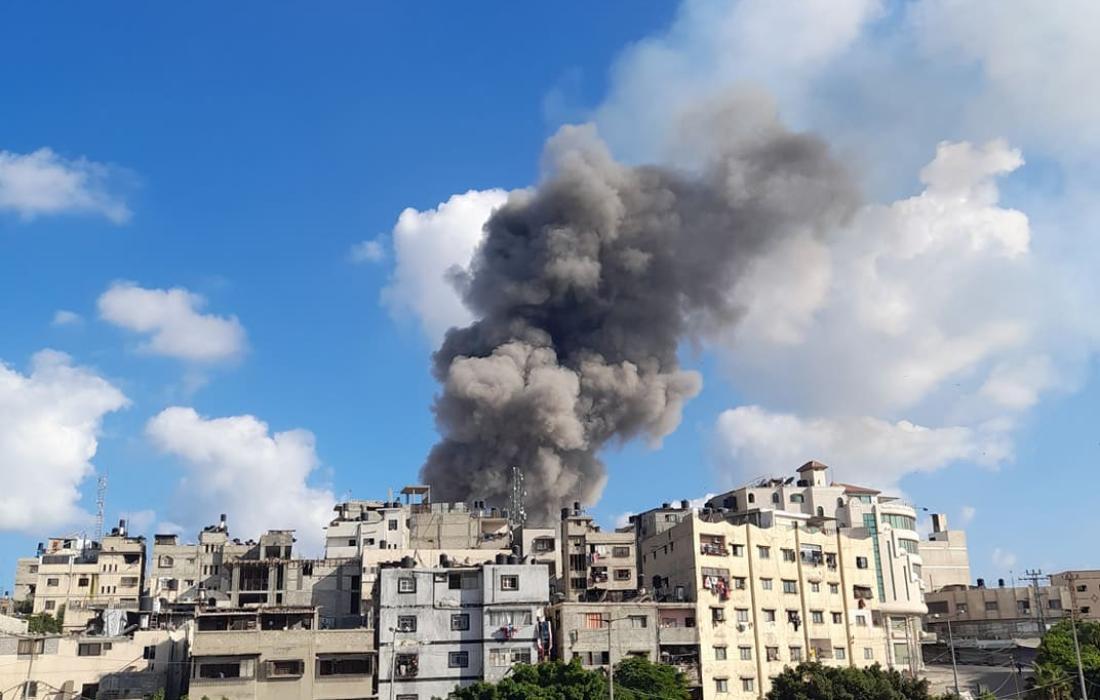 إصابات في انفجار غامض شرق مدينة غزة