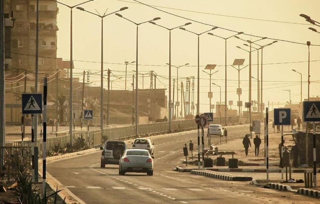 حالة الطرق في قطاع غزة