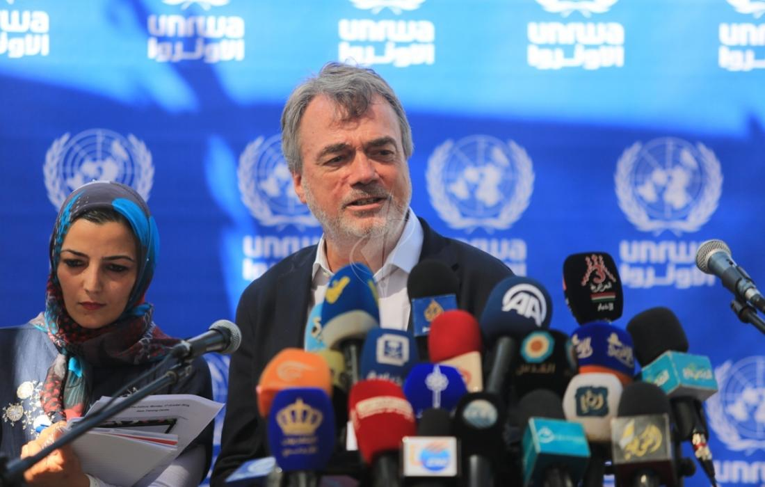 """بو شاك - مدير عمليات """"الأونروا"""" في غزة"""