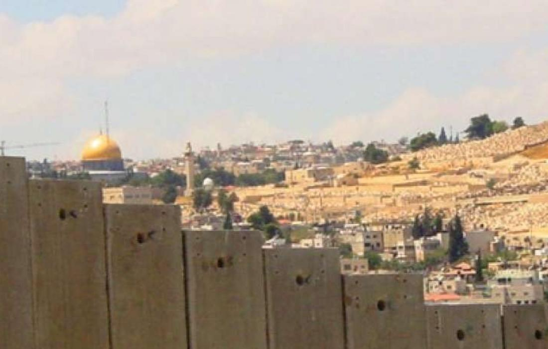 جدار الفصل العنصري في محيط مدينة القدس