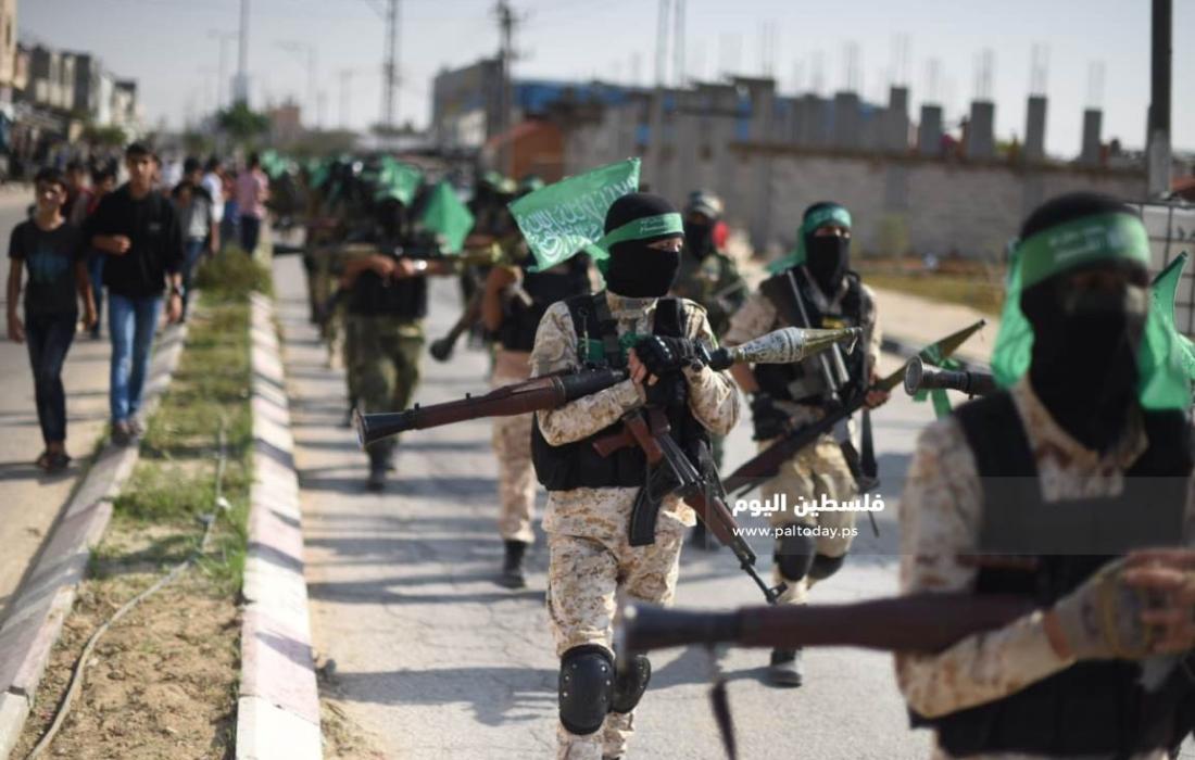 عرض عسكرى كتائب القسام (39387651) 