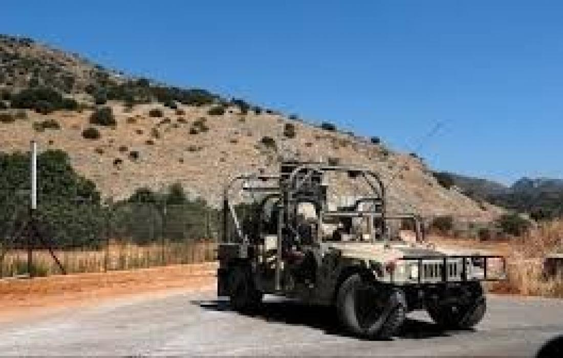 الاحتلال يطلق النار على شبان قرب حدود لبنان