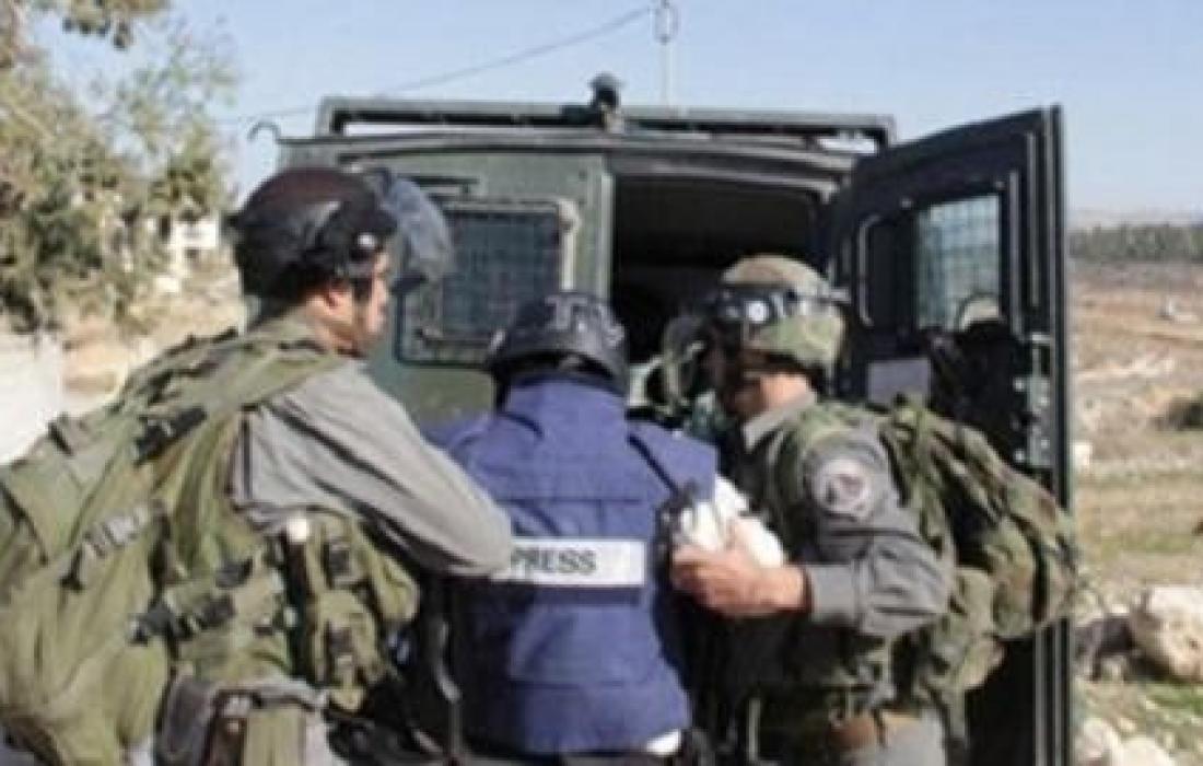 اعتقال صحفي