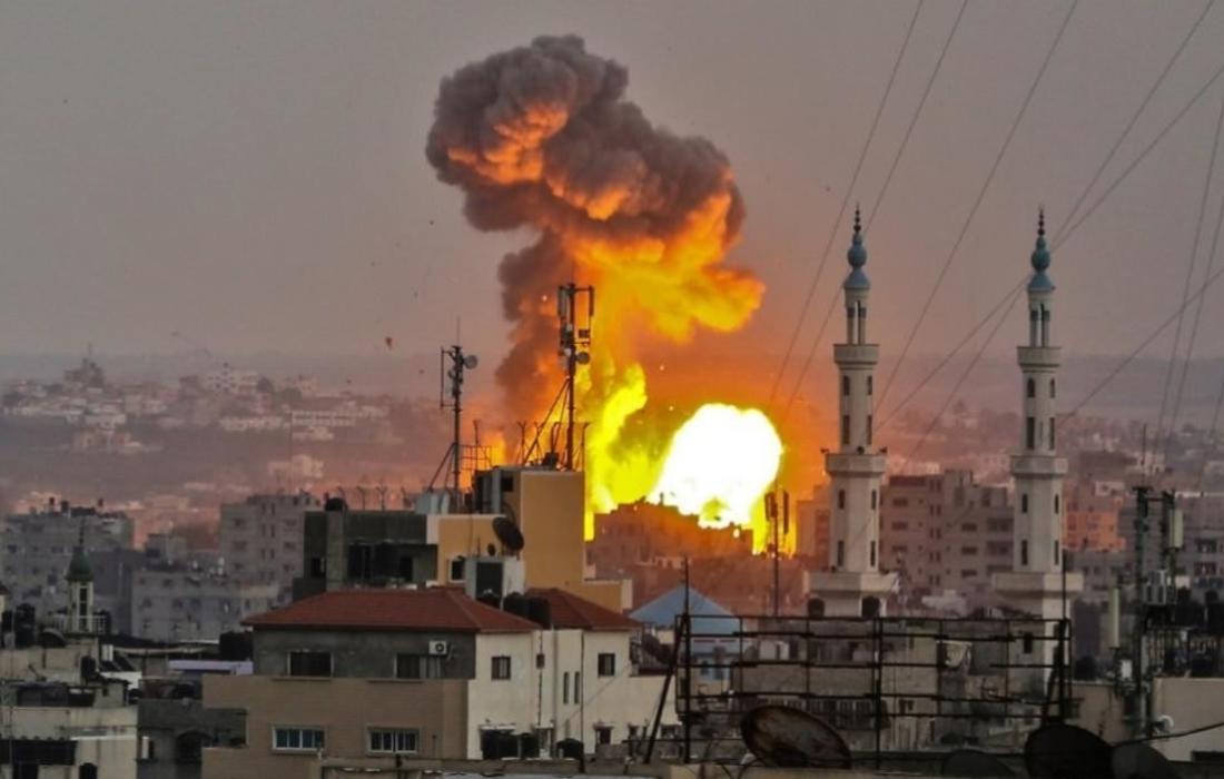 غارات على غزة