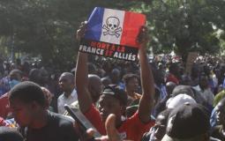 مظاهرات في العالم الاسلامي ضد فرنسا