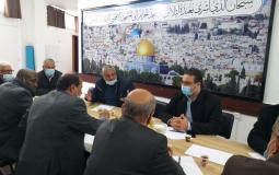 القوى الوطنية والإسلامية تدعو إلى تضافر الجهود وتهيئة الأجواء لإجراء الانتخابات الفلسطينية