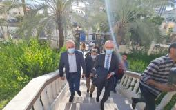 وفد من لجنة الانتخابات يصل غزة