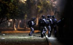 23 إصابة جراء قمع قوات الاحتلال المواطنين في الخليل