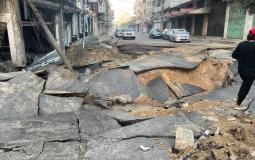 اضرار كبيرة بالبنية التحتية ومصادر المياه جراء عدوان الاحتلال على غزة