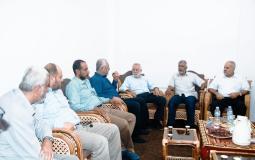 """لجان المقاومة تلتقي بالقيادي في حركة """"الجهاد الإسلامي"""" د. محمد الهندي"""