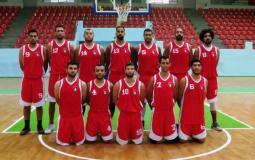 لقاء فلسطين والأردن في كرة السلة (2)