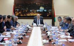 مجلس الوزراء في رام الله