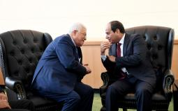 الرئيس عباس والرئيس السيسي