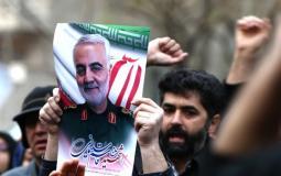 الذكرى السنوية الأولى على استشهاد قائد فليق القدس الإيراني قاسم سليماني