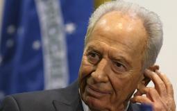 رئيس دولة الاحتلال الأسبق شمعون بيريس