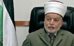 الشيخ محمد حسين مفتي القدس والديار المقدسة