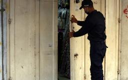 حظر التجوال في غزة