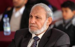 """عضو المكتب السياسي لحركة """"حماس"""" د. محمود الزهار"""