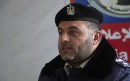 ايمن البطنيجي المتحدث باسم الشرطة بغزة