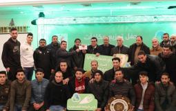 اختتام دوري جوال لكرة الطائرة في غزة
