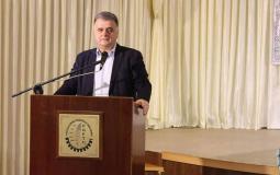 شاهر سعد أمين عام اتحاد نقابة عمال فلسطين