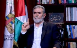 مقابلة الامين العـام لحركـة الجهاد الاسلامي زياد النخالة