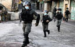 قوات الاحتلال في الضفة المحتلة (ارشيف)