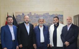 النخالة يستقبل حركة حماس1