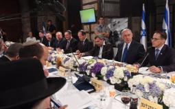 حكومة الاحتلال تعقد اجتماعا اسفل حائط البراق
