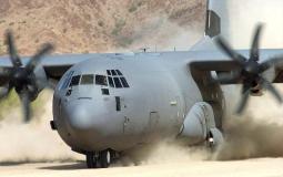 تحطم طائرة أمريكية في بغداد