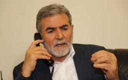 الأمين العام للجهاد زياد النخالة