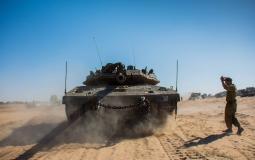 دبابة اسرائيلي