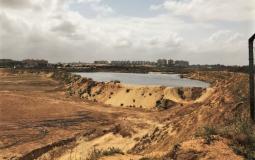 أحواض ام النصر شمال قطاع غزة