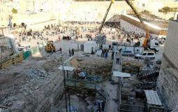 حفريات أسفل المسجد الأقصى