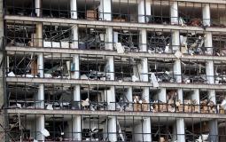 مرفأ #بيروت جراء الانفجار الضخـم (11)