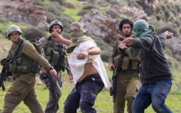 قوات الاحتلال ومستوطنين يعتدون على المواطنين في الضفة المحتلة (ارشيف)