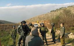اخطارات باخلاء اراضي زراعية في بيت لحم