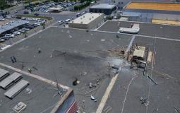 تدمير مطار ابها السعودي