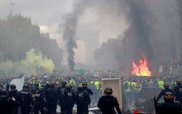 المواجهات في فرنسا