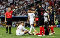 مباراة كرواتيا و انجلترا