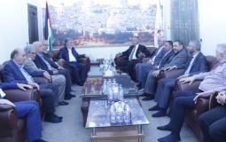 وفد من الاحزاب والشخصيات اللبنانية يزور الامين العام زياد النخالة