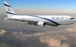 طائرة اسرائيلية