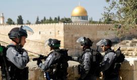 قوات الاحتلال في القدس المحتلة