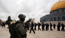 قوات الاحتلال تقتحم القدس (ارشييف)